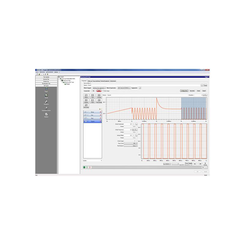 Software de Pruebas EMC