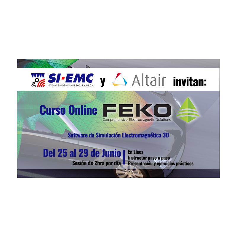 Curso Online GRATUITO FEKO