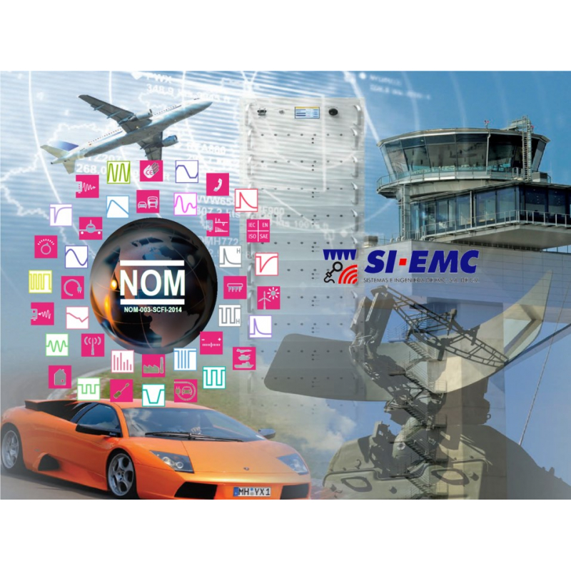NOM-003-SCFI-2014 Especificaciones de seguridad.  Pruebas de fenómenos electromagnéticos.