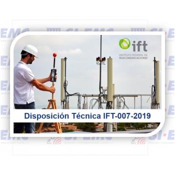 Disposición Técnica IFT-007-2019