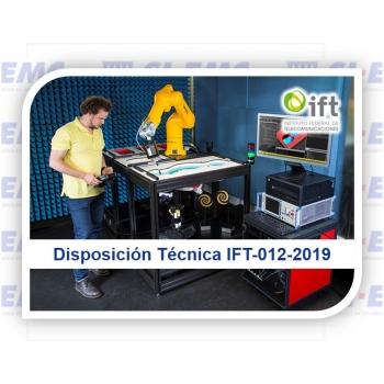 Disposición Técnica IFT-012-2019